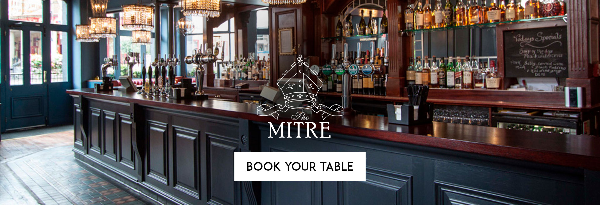 Book Your Table at The Mitre